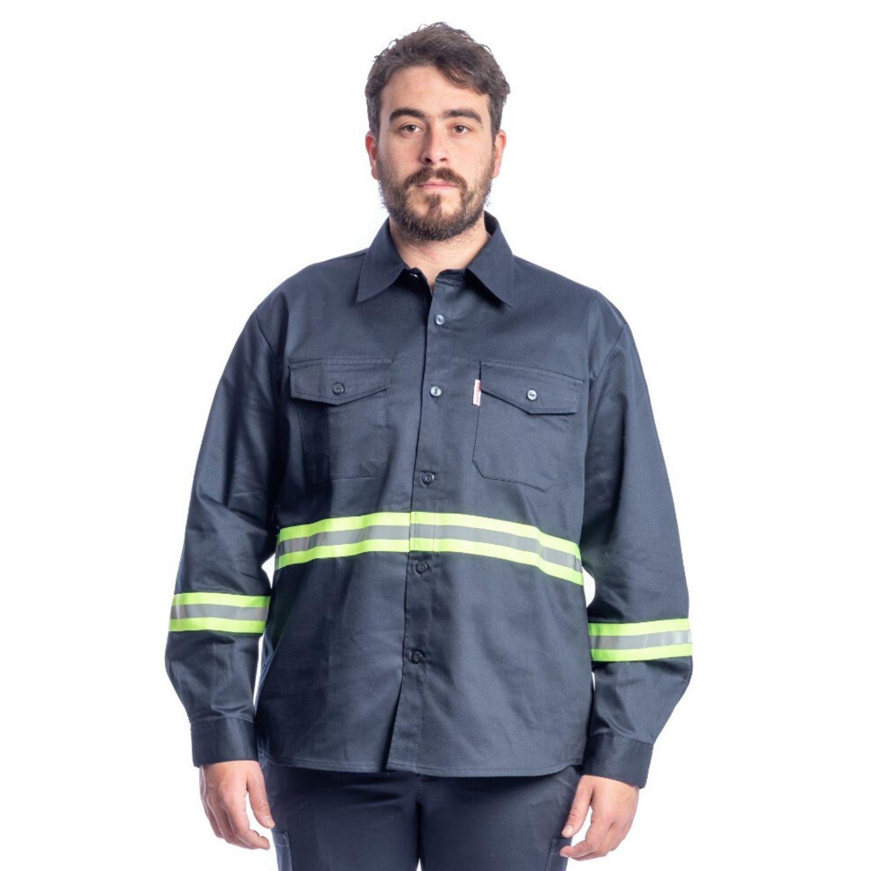 Camisa Manga Larga c/cinta reflectiva