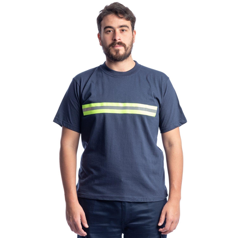 Buzo Camiseta M/Corta C/ Cinta Reflectiva