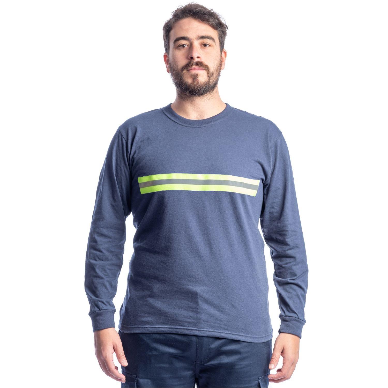 Buzo Camiseta M/larga C/ Cinta Reflectiva